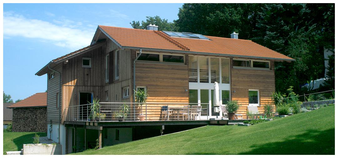 Moser Holzbau Rahmenhaus | Außenansicht