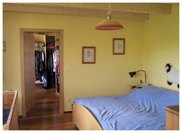 Moser Holzbau Rahmenhaus Haus Referenz Innenraum