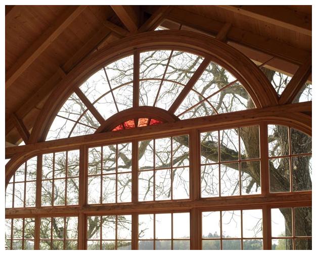 Rahmenhau von Moser Holzbau | Innenansicht