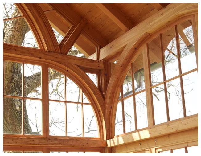 Rahmenhaus Salettl von Moser Holzbau | Innenansicht