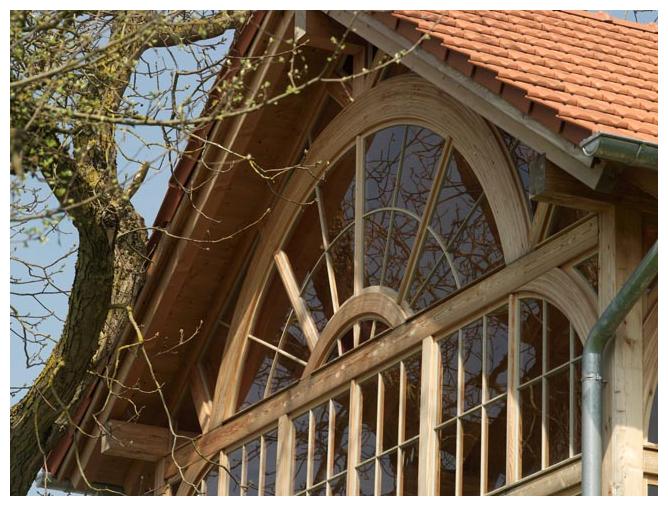 Rahmenhaus Salettl von Moser Holzbau | Außenansicht