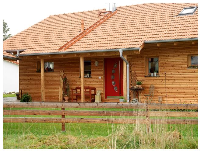 Moser Holzbau Massivholzhaus Haus Referenz