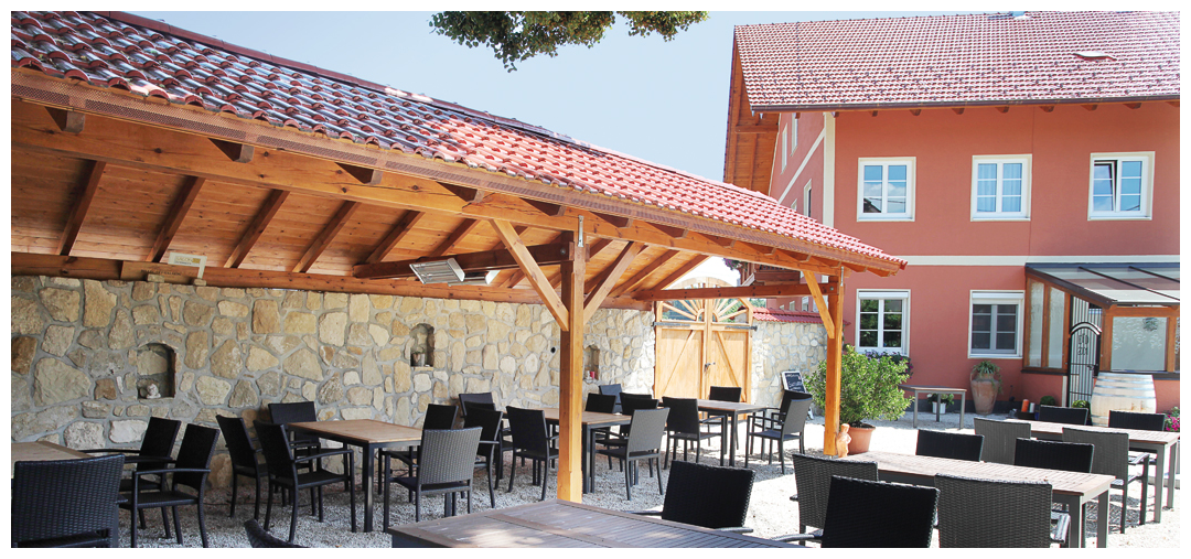 Sanierung und Umbau der Überdachung und Terasse von Moser Holzbau