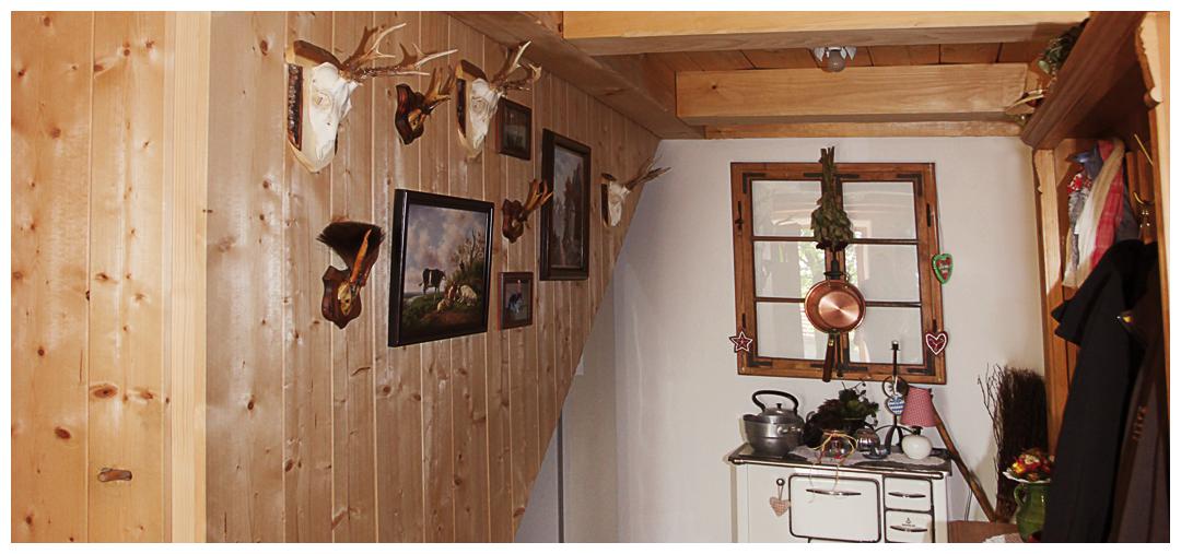 Blockhaus Zimmersanierung und Umbau von Moser Holzbau