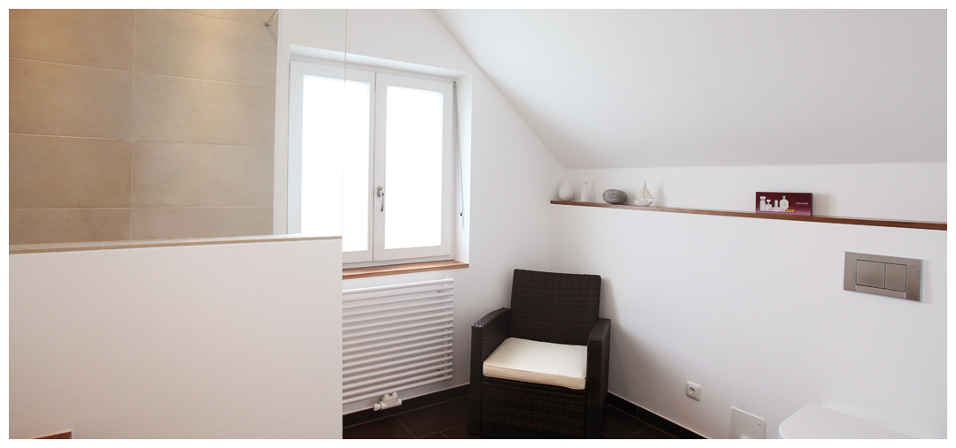 Zimmersanierung und Umbau des Badezimmers von Moser Holzbau
