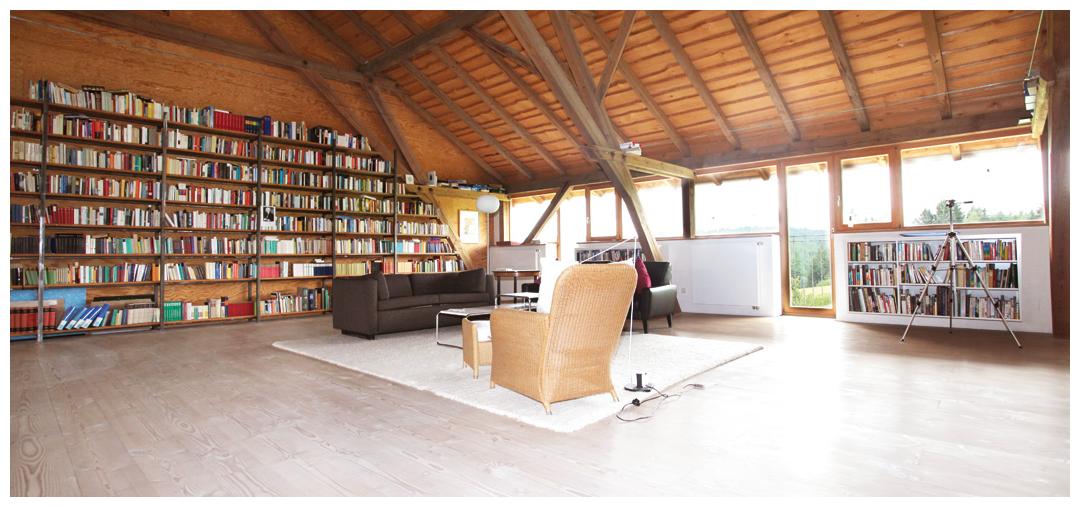 Blockhaus Zimmersanierung und Umbau von Moser Holzbau | Innenansicht
