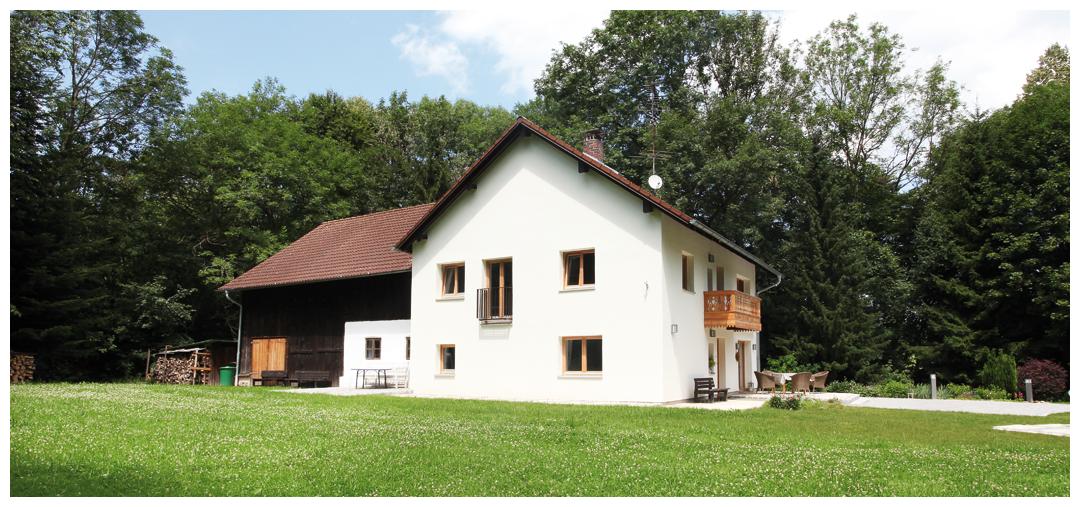 Blockhaus Zimmersanierung und Umbau von Moser Holzbau | Außenansicht