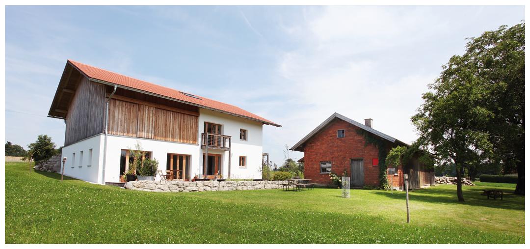 Saniertes und umgebautes Blockhaus von Moser Holzbau