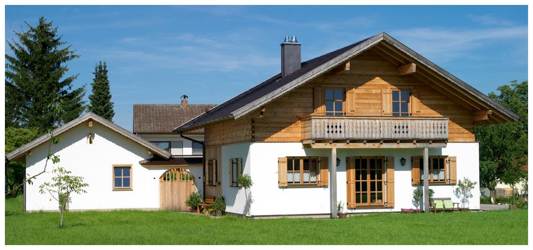 Moser Holzbau Blockhaus Haus Referenz