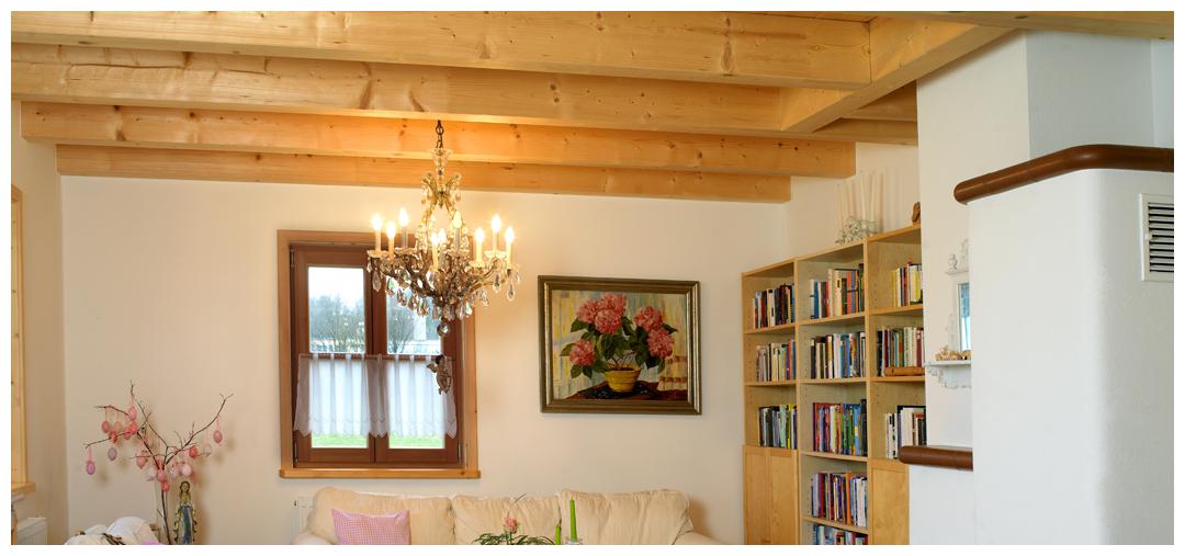 Blockhauszimmer von Moser Holzbau