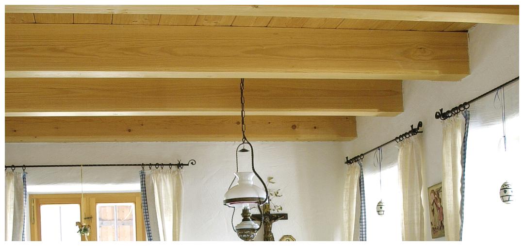 Moser Holzbau Blockhaus Decke | Innenraum