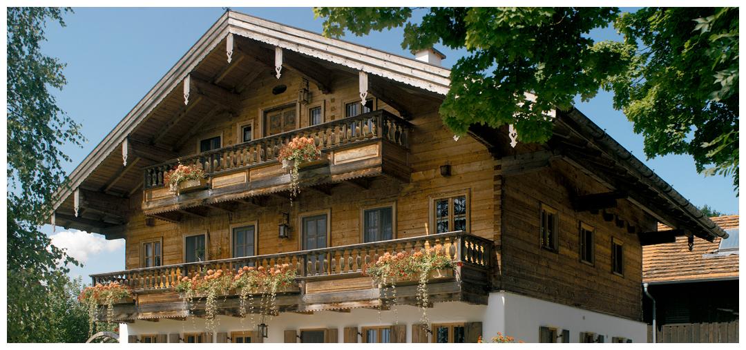 Rahmenhaus aus Holz von Moser Holzbau | Außenansicht