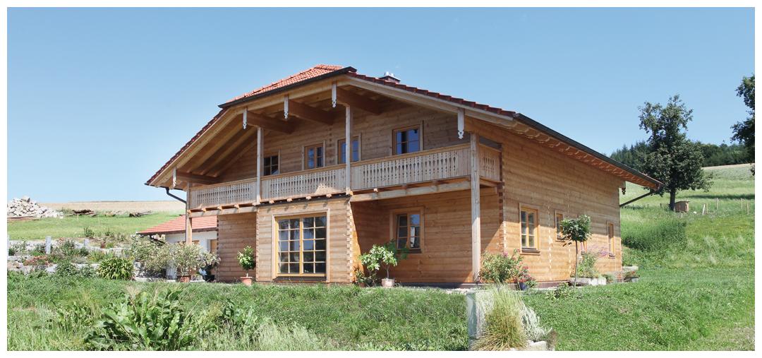 Moser Holzbau Massivholzbau | Außenansicht