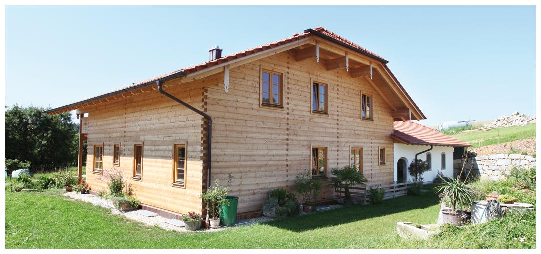Moser Holzbau Blockhaus | Außenansicht