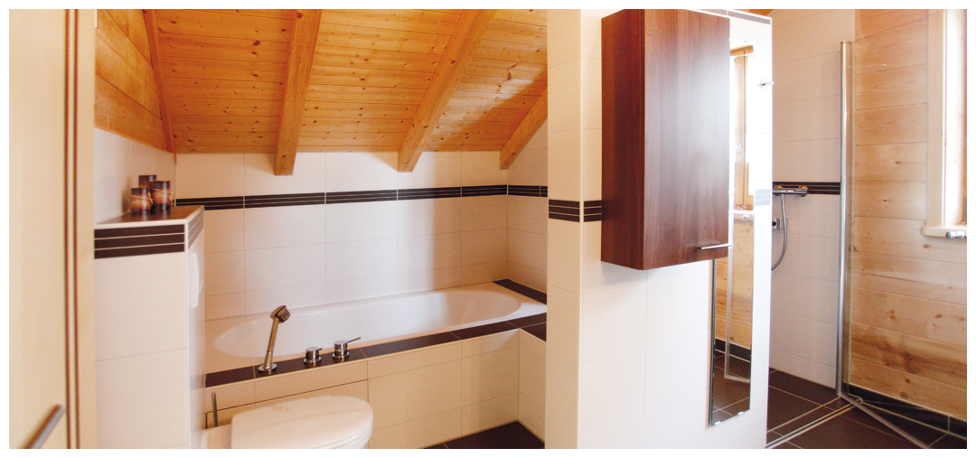 Moser Holzbau Badezimmer