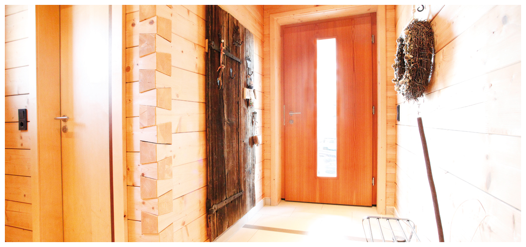 Hausflur aus Holz von Moser Holzbau