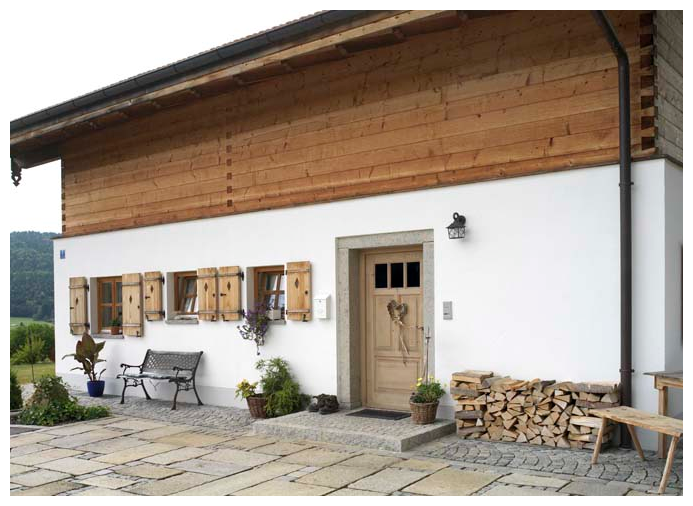 Moser Holzbau Holzfenster | Außenansicht
