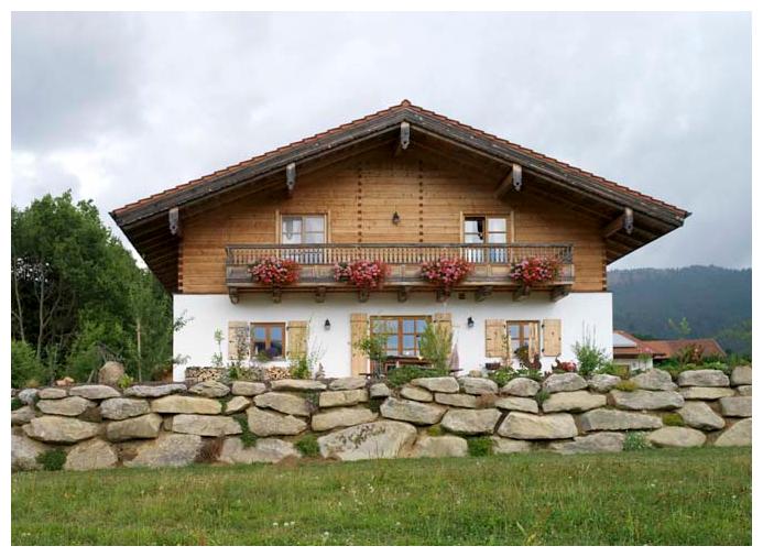 Moser Holzbau Dachaufstockung | Außenansicht