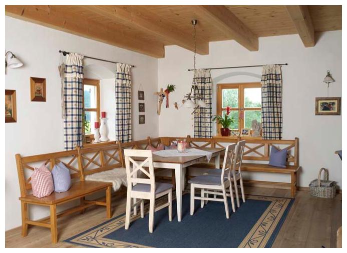 Moser Holzbau Blockhaus | Innenraum
