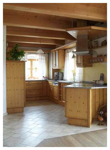 Moser Holzbau Blockhaus Küche