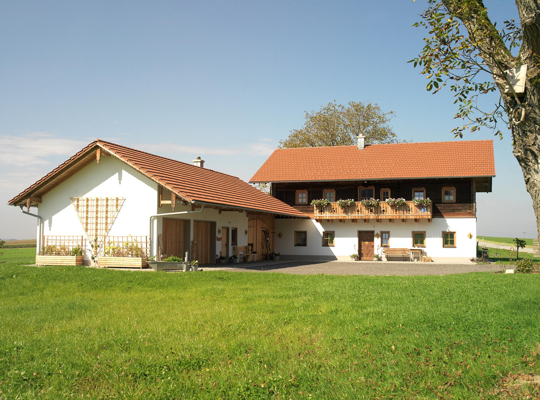 Holz-Dachaufstockung