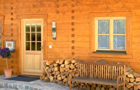 Moser Holzbau Holzterasse