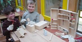 Kindergarten-werkbank