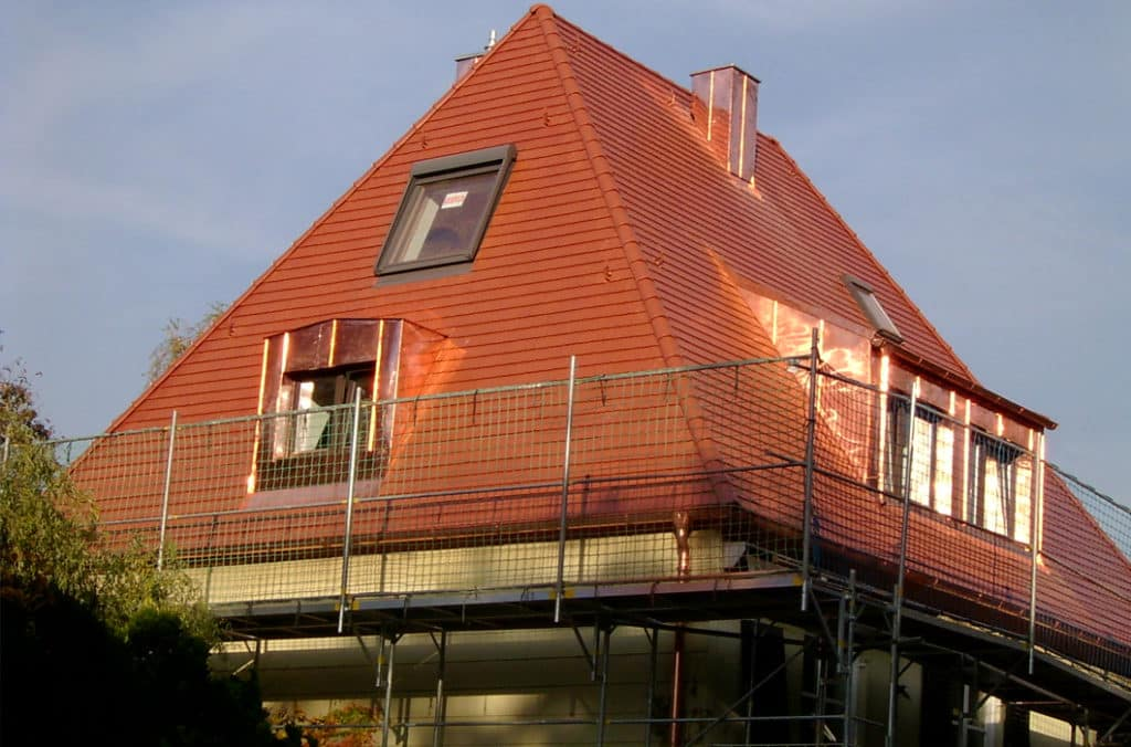 Moser Holzbau Dachsanierungsarbeiten