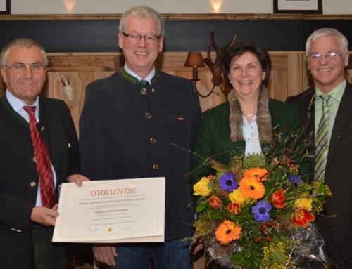 Laudatio | Silberne Ehrennadel für Karl-Heinz Moser