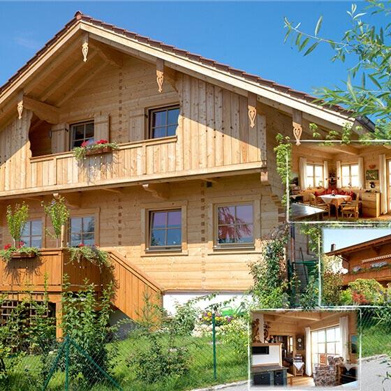 Moser Holzbau Holzhaus Fertigbau | Außenansicht