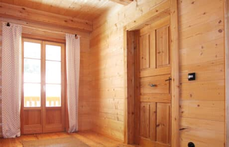 Moser Holzbau Holzhaus | Innenansicht