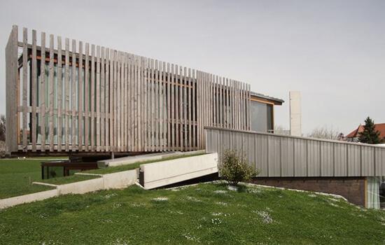 Moser Holzbau Massivholzhaus | Außenansicht